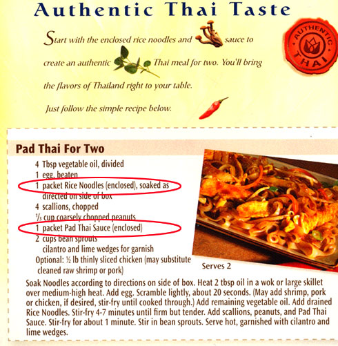 pad thai recipe for two