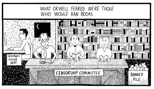 """the similarities between the novels brave new world by aldous huxley and 1984 by george orwell To democracy akin to big brother in george orwell's book """"1984  aldous huxley's """"brave new world,"""" where a permanent  the best of the new yorker."""